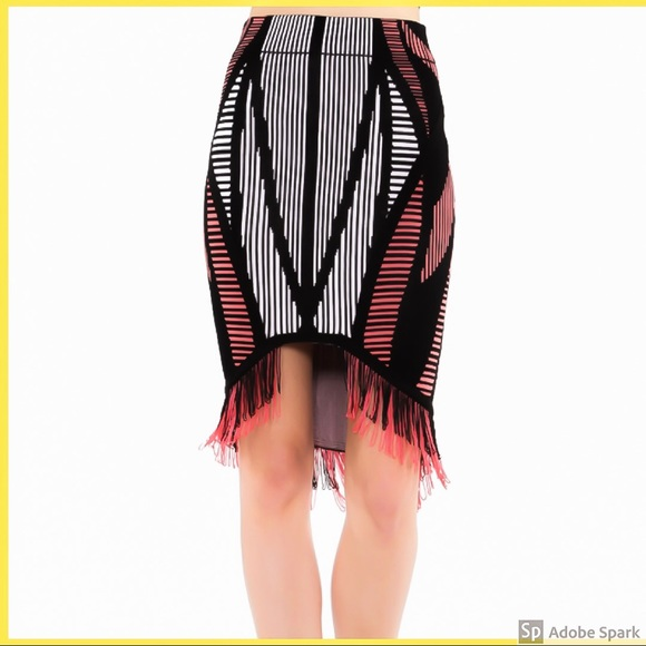WOW couture Dresses & Skirts - Multi colour fringe skirt